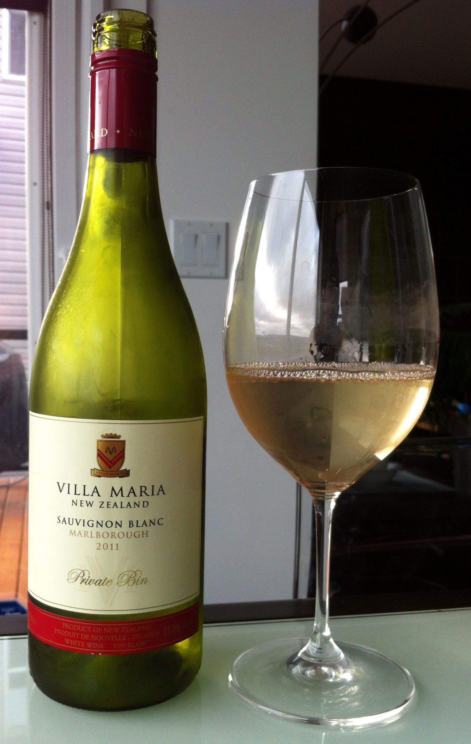 Wine Review 2011 Villa Maria Marlborough Private Bin