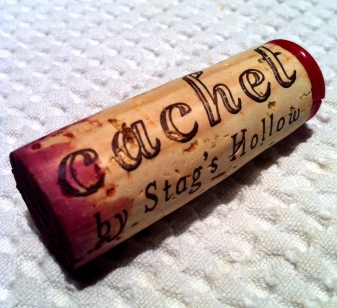 Cork Rating:  9.1/10 (The best cork I've seen in awhile -- longer than normal, great font, red wax, killer.