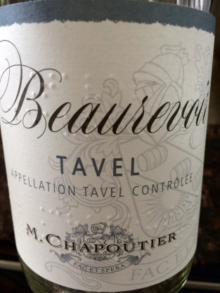 The other Chapoutier rose, from Tavel:  also good, twice as expensive.