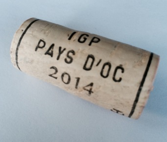 Cork Rating:  2/10 (I find the history of the Pays d'Oc IGP designation interesting.  This cork is not interesting.)