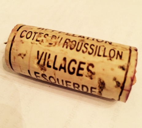 Cork Rating: 5/10 (The appellation name barely fits on the cork!)