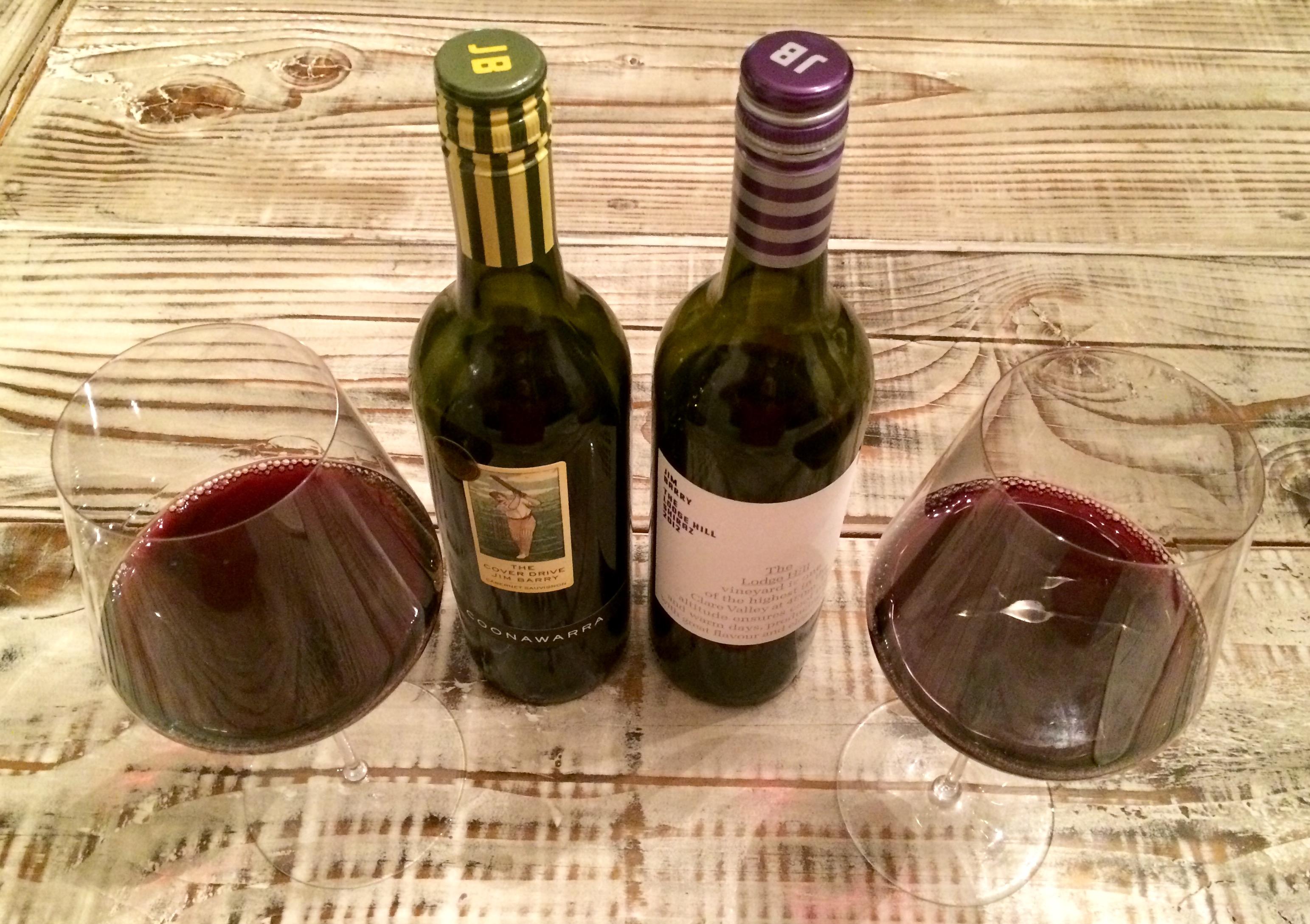 Wine Review: Jim Barry Value Red Showdown   pop & pour